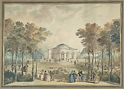 The Garden Façade of Bagatelle