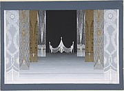 "Design for Stage Set for ""Les Mariages,"" George White's Scandals, New York"