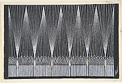 Design for  Beaded Curtain (Quatrième Voile) for