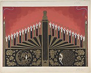 "Finale stage set design for ""Victor Herbert,"" George White's Scandals, New York, 1928"