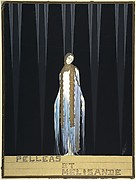 "Costume Design for ""Pelleas et Melisande,"" Metropolitan Opera, New York"