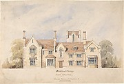 Buckland Grange, Proposed Alterations, South Elevation