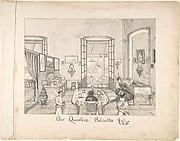 """Interor of a Room: """"Our Quarters Calcutta"""""""