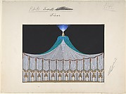 "Design for Stage Set, ""Petits Secrets Décor"" for ""Manhattan Mary,"" Majestic Theater, New York"