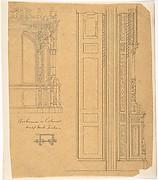 Bookcase of Cabinet Design