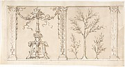 Design for a Frieze or Wall Decoration