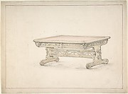 Design for a Renaissance Style Table