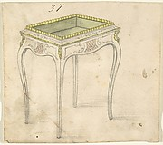Design for a Small Hollow-topped Table