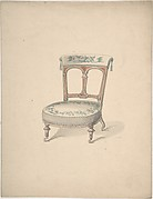 Design for a Low Chair on Casters