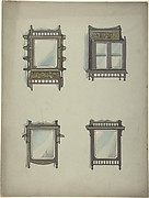 Design for Four Hanging Mirrors
