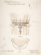 Design for Proposed Column Lights, St. Jude's Church, Southsea
