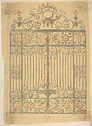 Wrought Iron Gate Design (for church?)