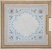 Design for Bathroom Ceiling, Hôtel Cahen d'Anvers
