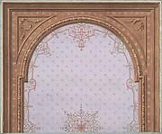 Design for Ceiling, Hôtel Cottier