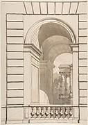 Design for Stable Arches, Hôtel Candamo