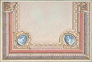 Design for Bedroom Ceiling, Hôtel Hope