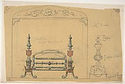 Design for a Grate and Surrounding Mantel