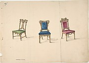 Designs for Three Chairs