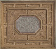 Design for Dining Room Ceiling, Neudeck