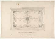 Design for Ceiling in Chinois Style, Empress Eugenie's Hotel