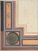 Pompeiian Design for Paneling