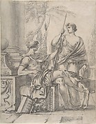 Cephalus Receiving the Spear and Hound from Procris