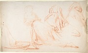 Four Figures Kneeling in Supplication
