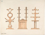 Design for Three Hat or Coat Racks