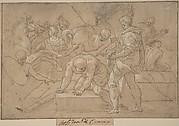 Historical Scene (Composition Study for Chapelle de Guise)