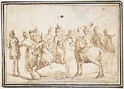 Group of Horsemen