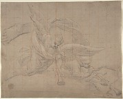Two Angels, Study for the Val de Grâce