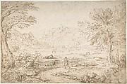 River Landscape near Narni
