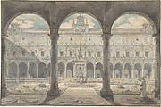Cloister of the Certosa di San Martino, Naples