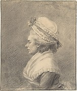 Profile of a Lady in a Bonnet