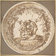 "The Drunken SiIenus: Design for the ""Tazza Farnese"""