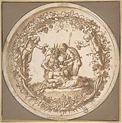 "The Drunken SiIenus: Design for the ""Tazza Farnese"""