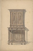 Design for a Wooden Cabinet in French Renaissance Style