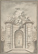 Design for Festival Architecture for an Entry into Paris for the King of Sweden, Fredrerick I of Hesse