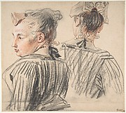 Studies of a Woman Wearing a Cap