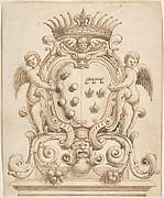 Heraldic Design for Henry IV and Marie de Medici (?)