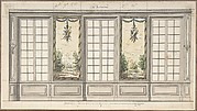 Design for a Windowed Wall with Decorative Panels