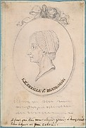 Portrait of L. F. Sezille, Widow of Beaucousin