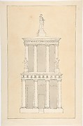 Design for Tomb of Mamier