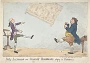 Billy Lackbeard and Charley Blackbeard playing at Football