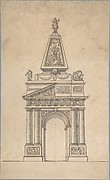 Design for a Triumphal Arch