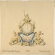 Design for a Clock with Neptune