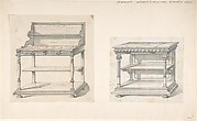 Two Designs for Serving Tables