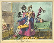 The Headache, A Print after George Cruikshank