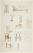 Sketches of Furniture