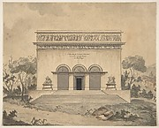 Design for the Exterior of a Theater